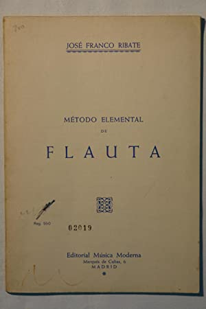 Método Elemental de Flauta: José Franco Ribate