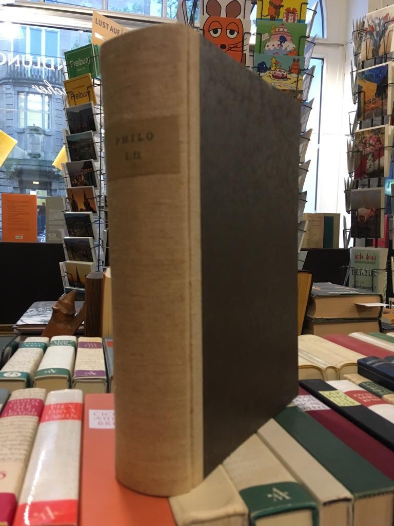 Die Werke Philos von Alexandria in deutscher: Philo von Alexandria: