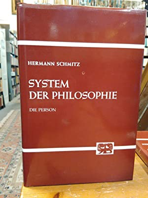 System der Philosophie Band 4: Die Person.