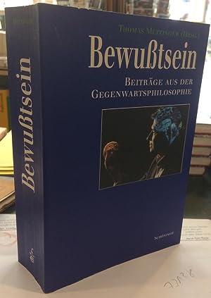 Metzinger Hg. Thomas Beiträge aus der Gegenwartsphilosophie Bewusstsein