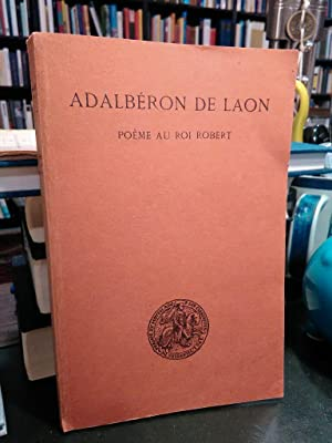 Adalberon De Laon Used Abebooks