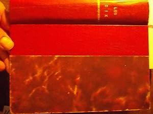Les dix commandements récits sur la guerre: Thomas Mann-Franz Werfel-