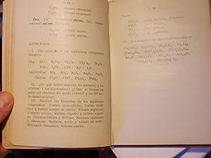 Lo que es la quimica: Manuel Guiu Casanova