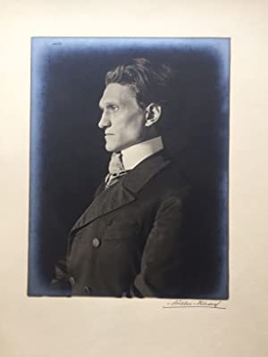 George, Stefan. Original-Photo-Portrait von Theodor Hilsdorf (1868-1944).