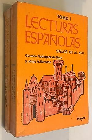 Lecturas Españolas I. Tomo I. Siglos XII: RODRIGUEZ DE MORA/SANTANA,
