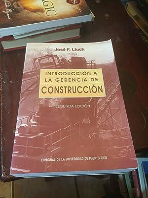 Introduccion a la gerencia de la construccion/ Introduction to Construction Management (...