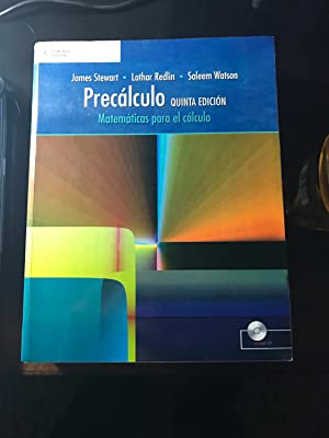 Precalculo/ Precalculus: Matematicas para el Calculo 5e: Stewart, James; Redlin,