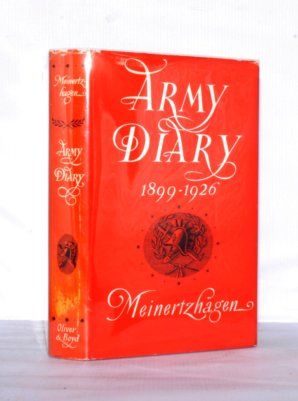 Army Diary 1899-1926 Meinertzhagen, Colonel R.