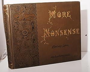 More Nonsense.: Lear, Edward: