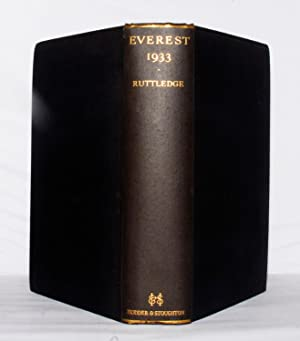 Everest 1933.: Ruttledge, Hugh.: