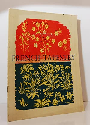 Masterpieces of French Tapestry, An Exhibition held at the Victoria and Albert Museum March 29 to...