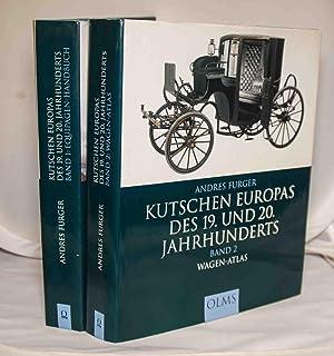 Kutschen Europas Des 19. Und 20. Jahrhunderts: Furger, Andres