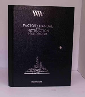 Wonka Chocolate Factory Manual & Instruction Handbook