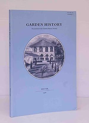 Garden History: The Journal of the Garden: Anon.
