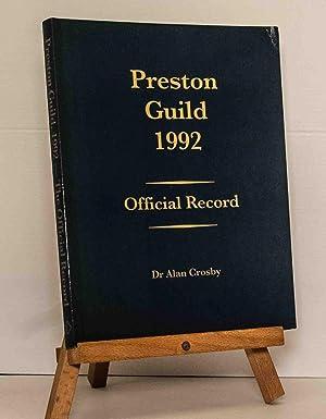 Preston Guild 1992: Official Record: Crosby, Dr. Alan