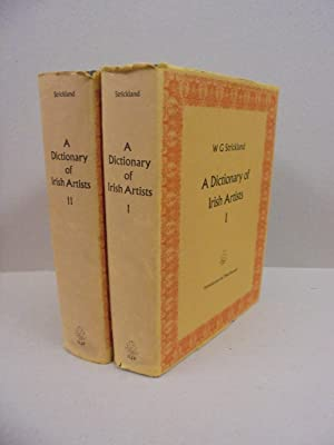 A Dictionary of Irish Artists (Two Volumes)