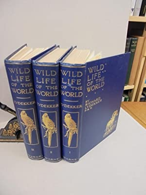 Wild Life of the World: A Descriptive Survey of the Geographical Distribution of Animals (Three V...