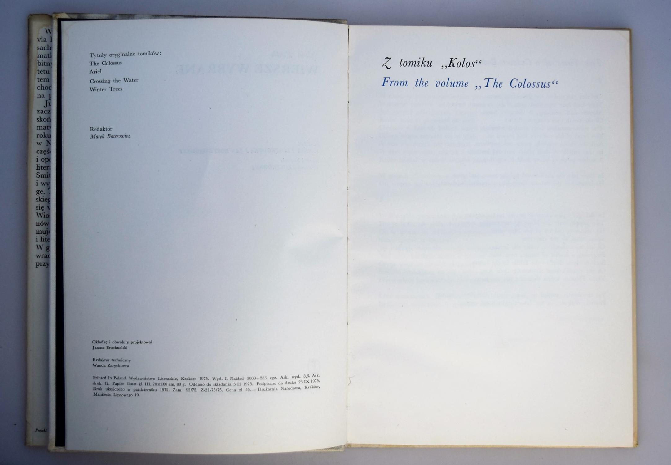 Wiersze Wybrane Polish Edition