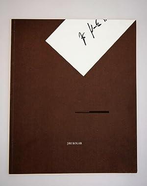 Jiri Kolar : defective art 1986-1990.: Kolar, Jiri.