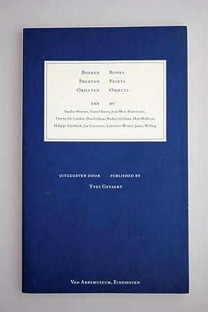 Boeken, prenten, objecten : van Stanley Brouwn,: Gevaert, Yves.; Balberghe,