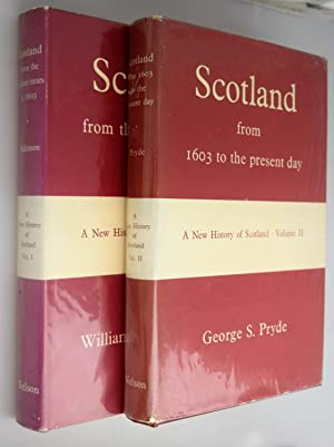 Scotland from 1603 to the present day.[ Volumes 1 & 2 ]