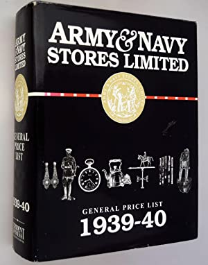 Army & Navy Stores Limited: General Price List 1939-40