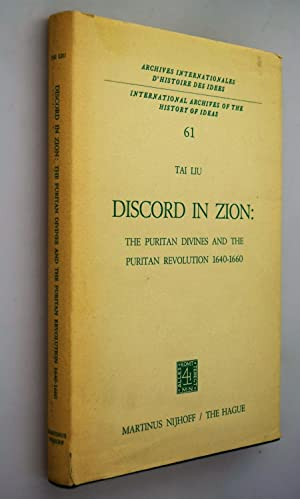 Discord in zion: the puritan divines and the puritan revolution, 1640-60.