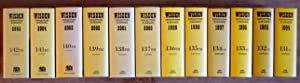 Wisden Cricketers' Almanack 1994 to 2003 { 13 Volumes All Hard Covers in Dust Jackets }