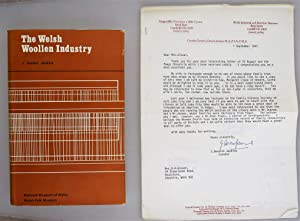 The Welsh woollen Industry [ Letter Signed from the Author ]