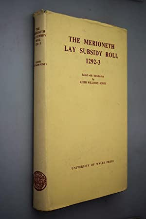 The Merioneth lay subsidy roll of 1292-3