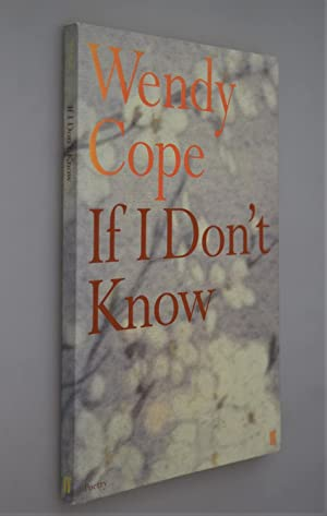 If I don't Know { SIGNED BY AUTHOR }