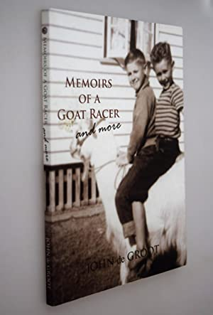 Memoirs of a Goat Racer and More { SIGNED DEDICATION FROM AUTHOR }