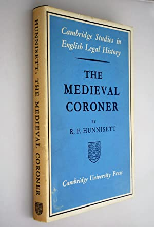 The medieval Coroner