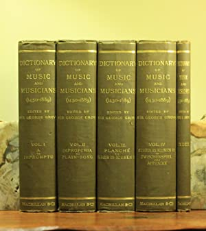 A Dictionary of Music and Musicians (A.D.: Sir George Grove