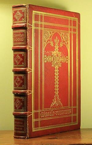 Missale Romanum ex decreto S.S. Concilii Tridentini