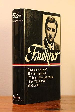 William Faulkner, Novels 1936-1940: Absalom, Absalom! -: William Faulkner