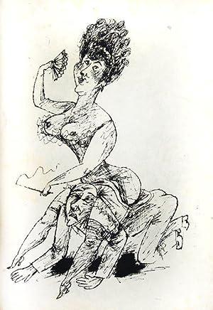 Spiegel der Venus. Folge von 45 Federlithographien: Zijl, Maarten van).