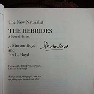 The Hebrides - Signed By Author