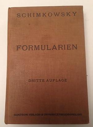 Formularien für Verträge und für Eingaben im Verfahren außer Streitsachen: ...