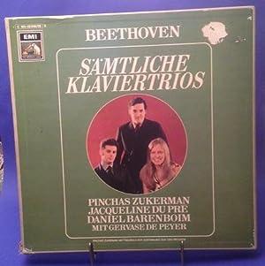 Sämtliche Klaviertrios Zukerman Du Pre Barenboim 5 LP Box mit Booklet