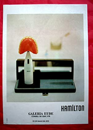 RICHARD HAMILTON / POP ART / POSTER: GALERIA EUDE - POSTER