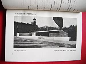 MIES VAN DER ROHE - PABELLÓN ALEMAN - BARCELONA 1929: BAUHAUS