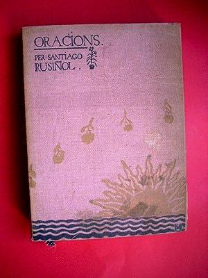 ORACIONS: SANTIAGO RUSIÑOL