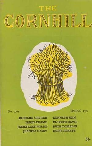 The Cornhill No 1063 Spring 1970: Richard Church; Janet