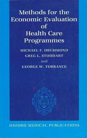 Methods for the Economic Evaluation of Health: Michael F. Drummond