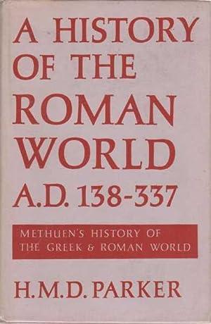 A History of the Roman World A.D.: H. M. D.