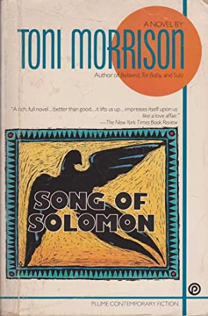 the myth of icarus in toni morrisons song of solomon Song of solomon by toni morrison its earthy poetic language and striking use of folklore and myth established morrison as a major voice in contemporary fiction.