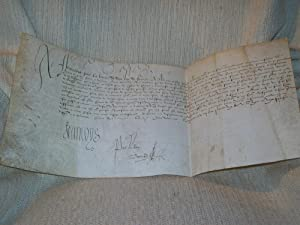 REQUETE ET QUIETAN de Robert de Villemoyne: FRANCOIS 1er BAYARD