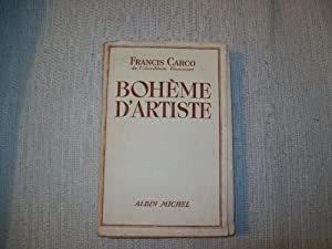 BOHEME D'ARTISTES.: CARCO Francis
