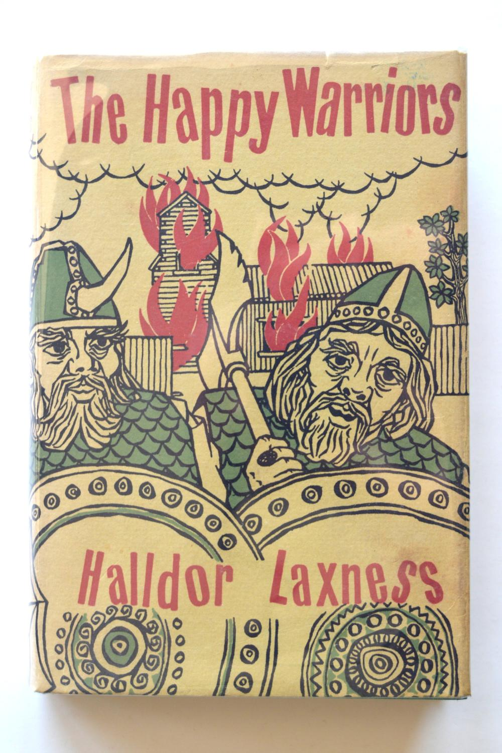 The Happy Warriors Laxness, Halldor Fine Hardcover